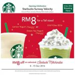 Starbucks Offer Tall Sized Beverage at RM8 Only!