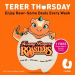 FREE 1 Kenny Roger's Quarter Chicken Giveaway!