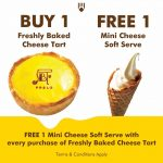 FREE 1 Mini Cheese Soft Serve Ice Cream Giveaway!