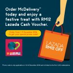 FREE RM12 Lazada Voucher Giveaway!
