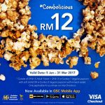 Golden Screen Cinemas Offer Combolicious at RM12 Only!