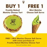 Pablo Cheesetart FREE Mini Matcha Cheese Soft Serve Giveaway!