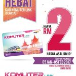 Card Komuter Link (Adult) At RM2 Only!