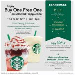 Starbucks Offer Buy 1 FREE 1 Promo + FREE Starbucks Classic Donut Giveaway!