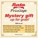 FREE Bata Mystery Gift Giveaway!