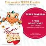 FREE 1 TGV Movie Ticket Giveaway!