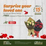 FREE A Bouquet Of Flower To Your Loved One!