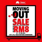 Fipper Moving Out Clearance Sales, Price As Low As RM8 Only!