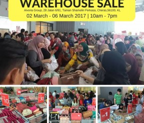 Elianto, Bonita and Tiamo Warehouse Clearance Is Back!
