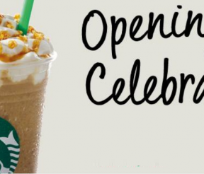 Starbucks Opening Special Promo!