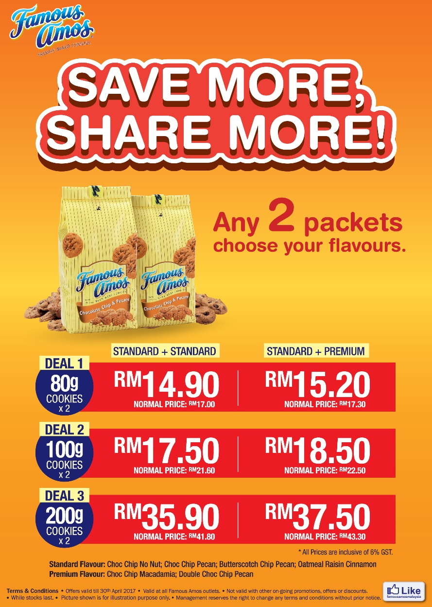 Famous Amos Discount