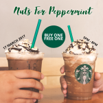 Starbucks Offer Buy 1 FREE 1 Limited Edition Beverage Deals!