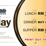 Jogoya Buffet Restaurant Offer Friday Deals!