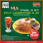 Kenny Rogers ROASTERS School Holiday Special Promo!