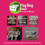 Fave by Groupon Pay Day Sale Enjoy EXTRA 50%off Deal!