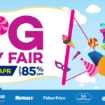 Lazada Big Baby Fair Saving Up to 85%off Discount!