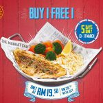 The Manhattan FISH MARKET Offer Buy 1 FREE 1 Deals!