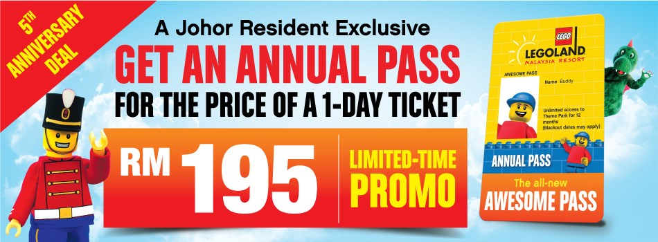 Legoland Offer Get an Annual Pass fot the Price of a 1 Day ...