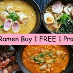 Ramen Taiko Japanese Cuisine Buy 1 FREE 1 Deals!