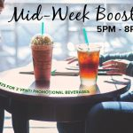 Starbucks Mid Week Booster Deal!