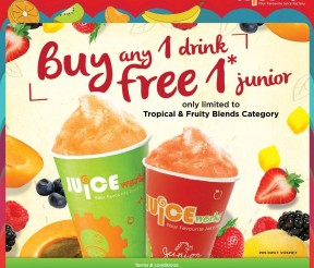 Juice Works Offer Buy 1 FREE 1 Deal!