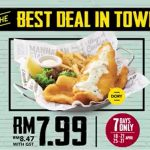 The Manhattan FISH MARKET offer Manhattan Fish 'N Chips at RM7.99 Only!