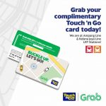 FREE GRAB Touch'n Go Card Giveaway!