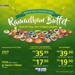 Sushi King Offer Ramadhan Buffet Deal!