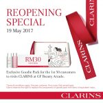 FREE Clarins Exclusive Goodies Pack Giveaway!