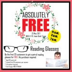 FREE Reading Glasses Giveaway!