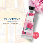 FREE L'OCCITANE Hand Cream Giveaway!