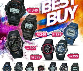 G-SHOCK Best Buy Promotion!