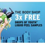 FREE The Body Shop 3 Drops Of Youth Liquid Peel Sample Giveaway!