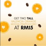Starbucks Offer Valencia Orange Mocha Special Deal!