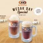 A&W Wesak Day Special, RB For Only RM1!