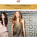 H&M New Launch Online Store Deal!