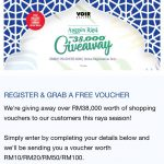 FREE VOIR Shopping E-voucher Giveaway!