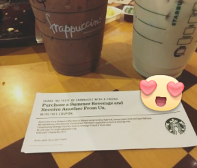 FREE Starbucks Buy 1 FREE 1 Voucher Giveaway!