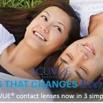 FREE ACUVUE Contact Lenses Sample Giveaway!
