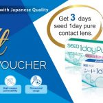 FREE 3 days SEED 1day pure Contact Lens Giveaway!