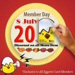 Eggette Lab Offer Member Day Promo!