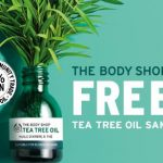 FREE The Body Shop Tea Tree Oil Sample Giveaway!