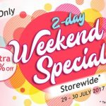 Cosway Weekend Special Deal!