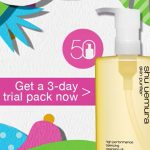 FREE Shu Uemura 3 Day Trial Pack Giveaway!