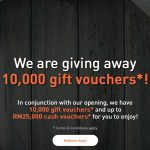 FREE Melawati Mall Voucher Giveaway!