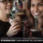 FREE Tall Starbucks Cold Brew Giveaway!
