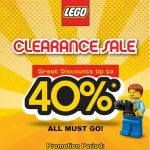 Lego Offer Up To 40%off Discount!