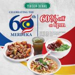 Penang Road Famous Teochew Chendul Offer 60%off Promo! – 折扣60%优惠!
