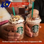 Starbucks Offer RM6 Promo! 星巴克优惠一杯仅RM6!