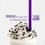 The Coffee Bean & Tea Leaf Offer Any Ice Blended Drink at Only RM10! – 冰沙饮料优惠仅RM10而已!